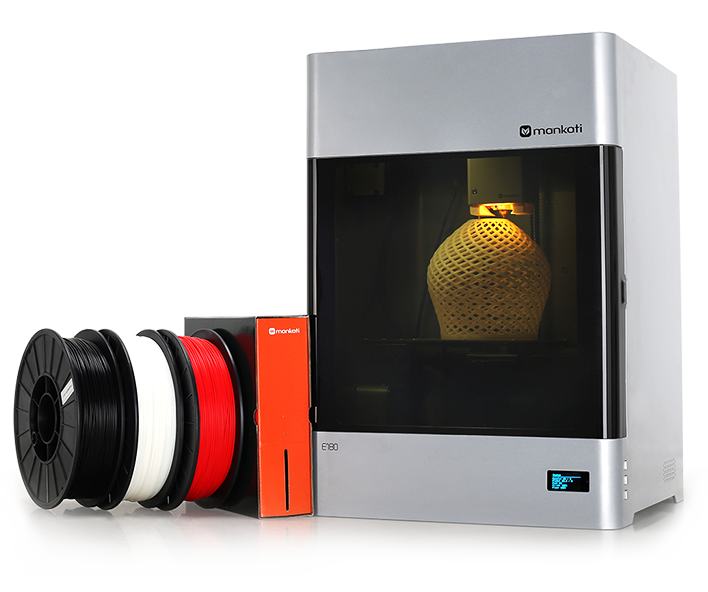 The Mankati E180 professional desktop 3D printer