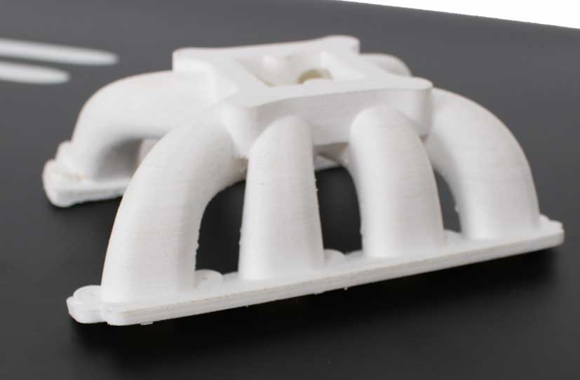 A 3D print made with Formfutura's new nylon filament