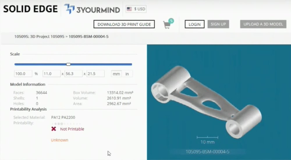 3YOURMIND is now integrated directly into Solid Edge