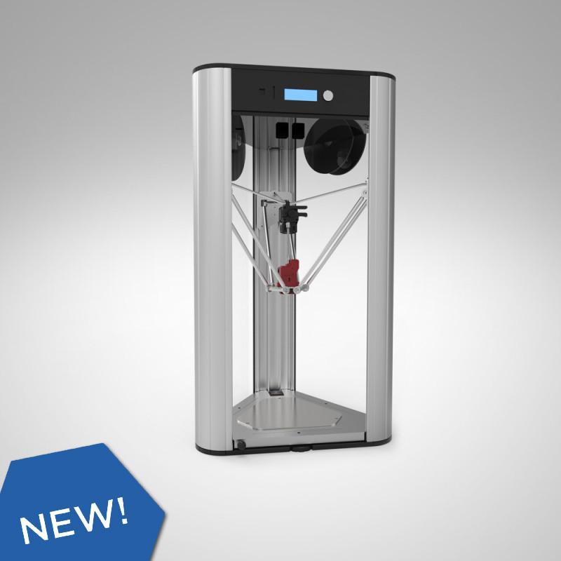 The DeltaWASP 20 40 Turbo 2 desktop 3D printer