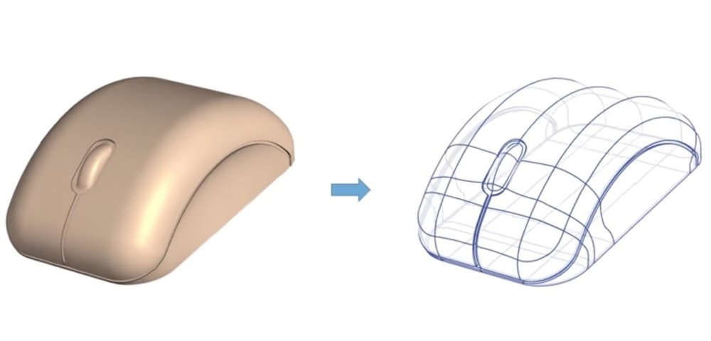 Deriving a 3D CAD model from an image?