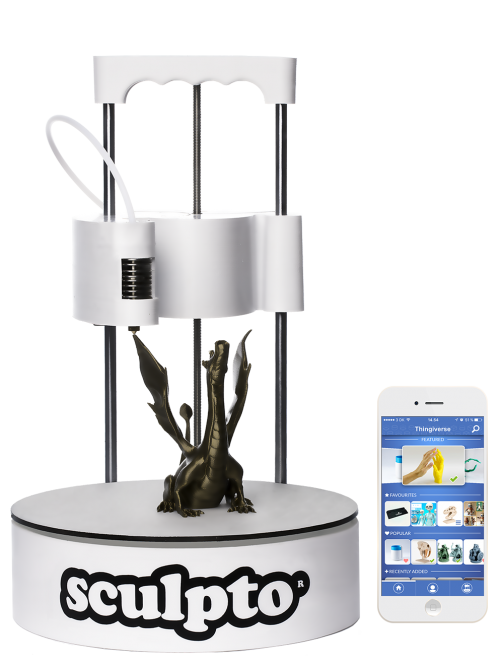 The Sculpto desktop 3D printer