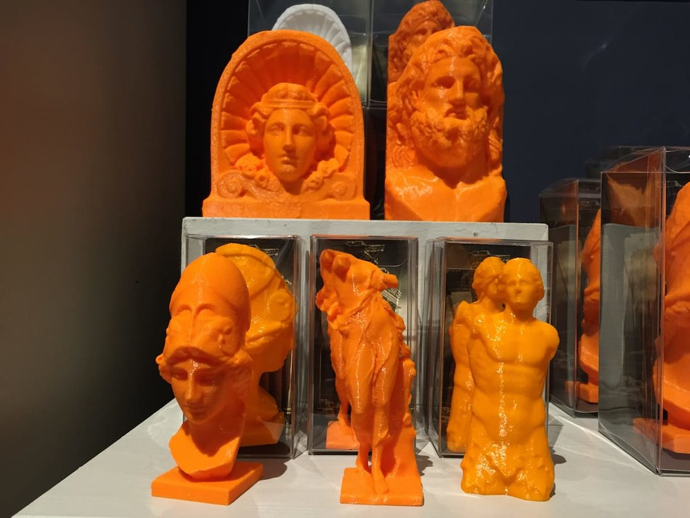 Could museum pieces be 3D printed on demand?
