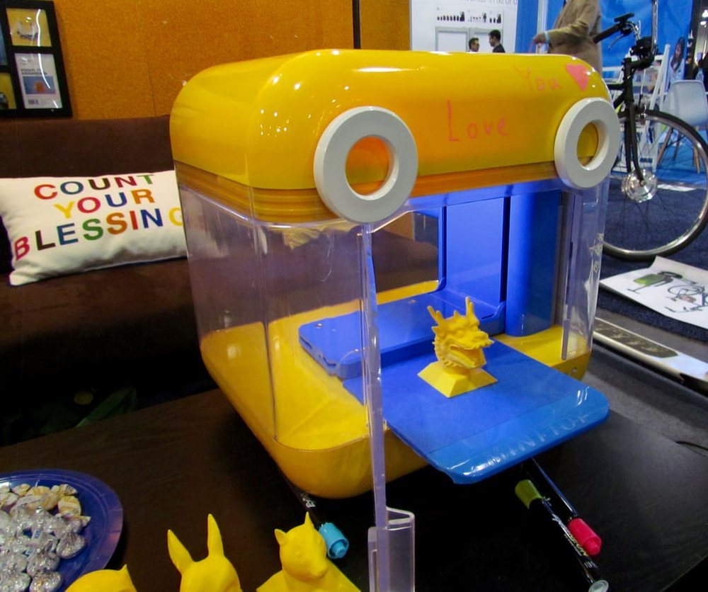 The MiniToy from Weistek, one of many desktop 3D printers designed for children