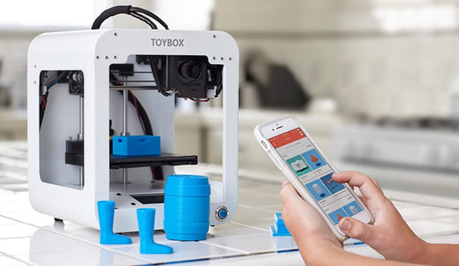 Another 3D printer for children, the Toybox
