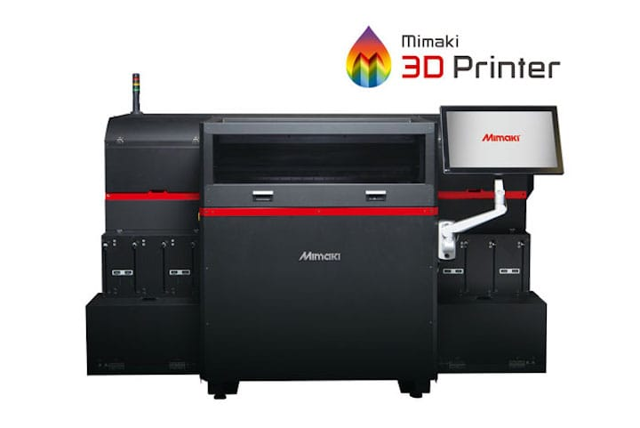 The Mimaki 3DUJ-553 UV LED, a precision full color 3D printer