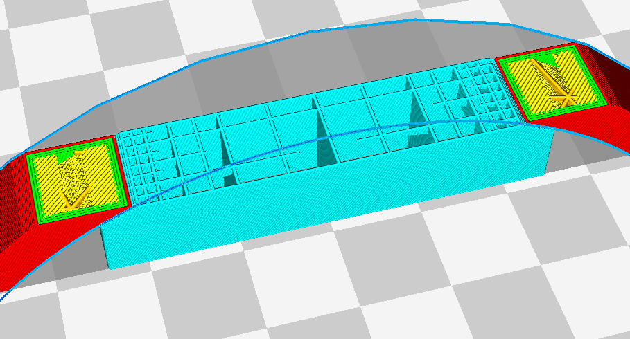 Cura 2.7's gradual support infill feature