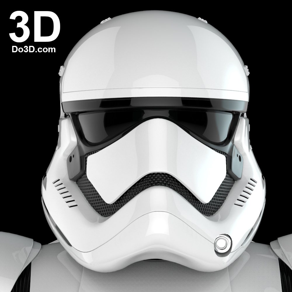 A Star Wars stormtrooper 3D model available at Do3D
