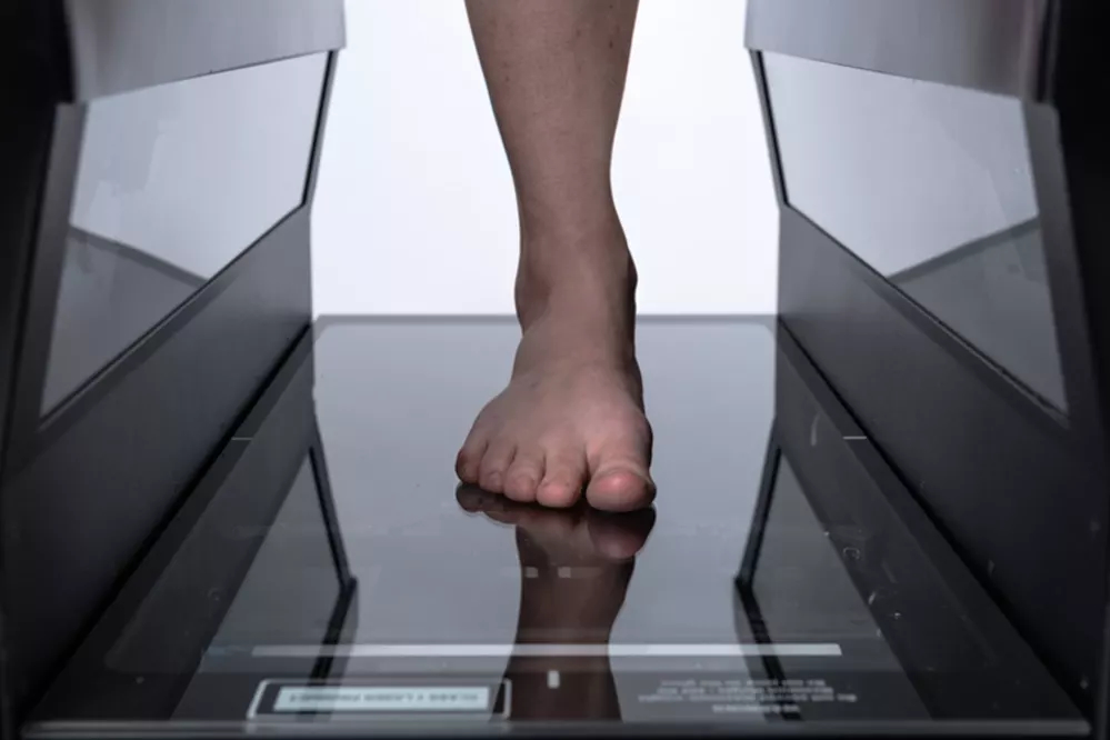 HP's new FitStation for 3D scanning individual feet