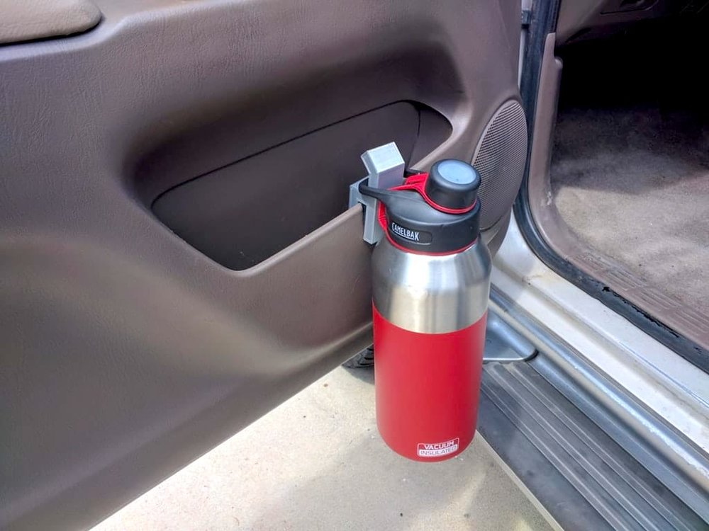 A 3D printed bottle holder - but is it safe?