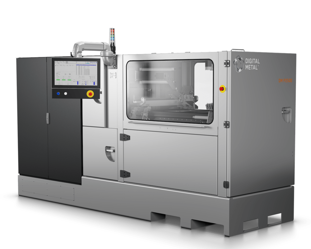 The new - and now available - Digital Metal DM P2500 3D metal printer