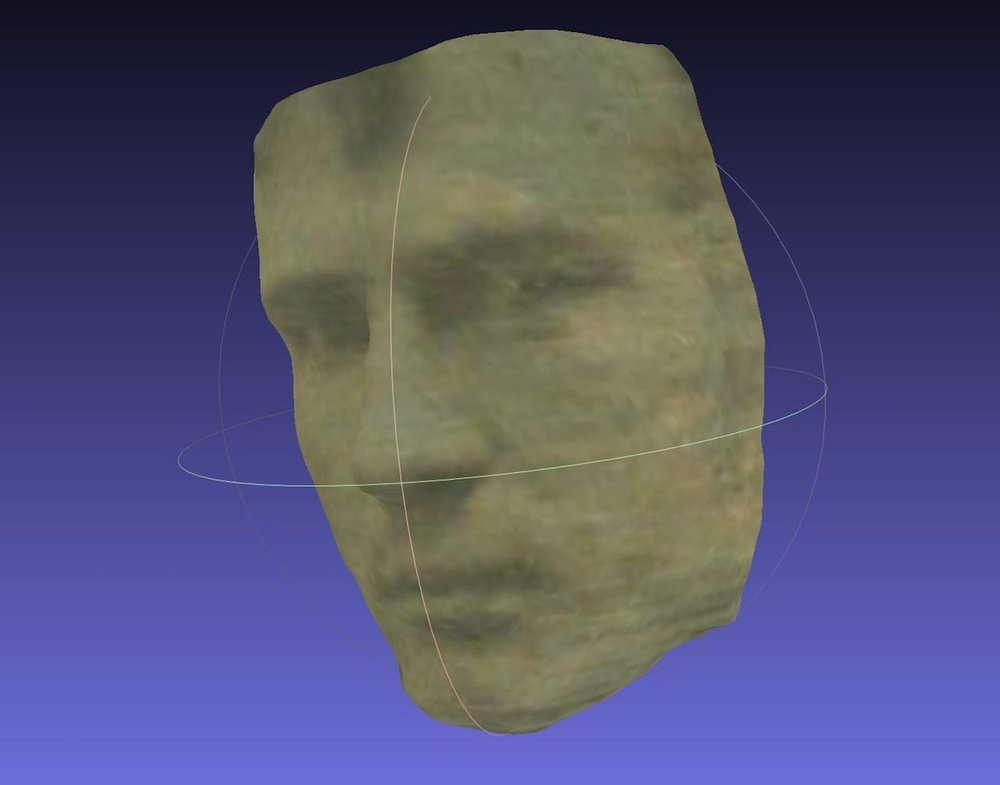 Perhaps the oldest 3D scan ever done