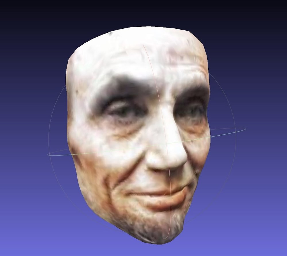 Abraham Lincoln in 3D