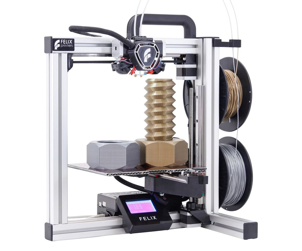 The new FELIX Tec 4 desktop 3D printer