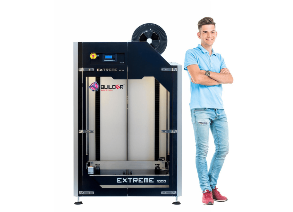 The new Builder Extreme 1000 large format 3D printer