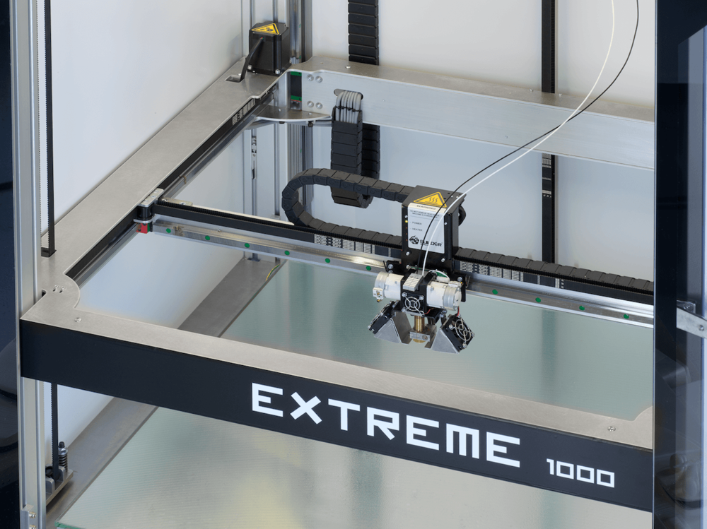 The new Builder Extreme 1000 dual filament system