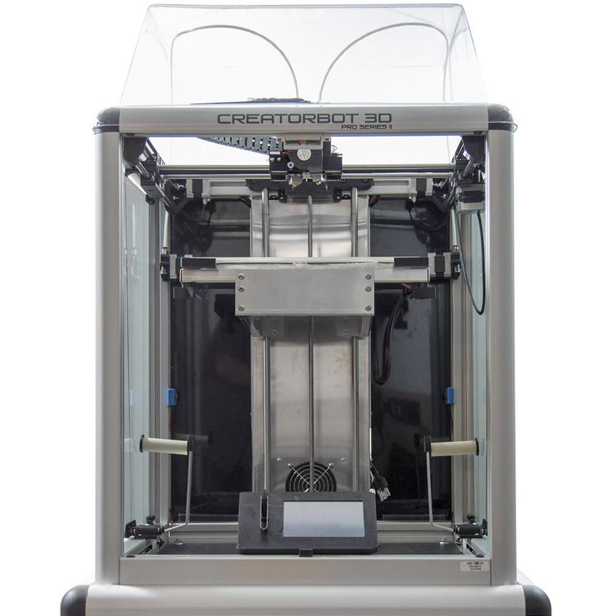 The CreatorBot 3D Pro Series II Professional Desktop 3D Printer