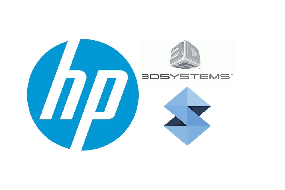 HP vs 3D Systems vs Stratasys