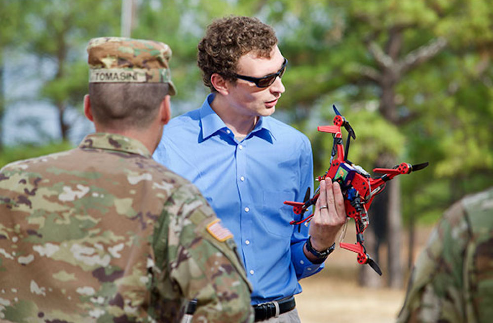 What's the military doing with 3D printed drones?