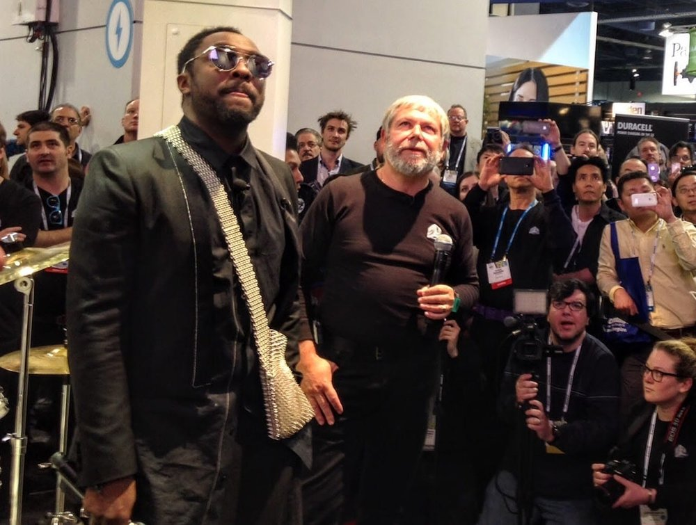 Will.I.Am is announced as 3D Systems Chief Creative Officer at CES