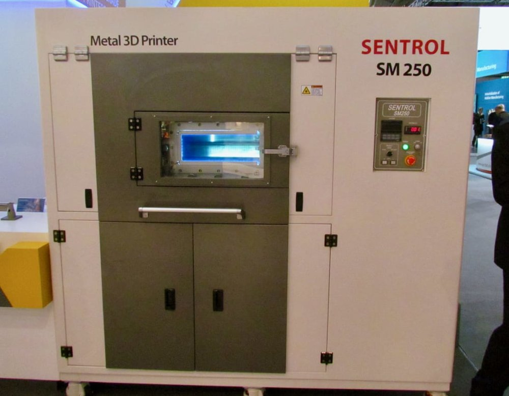 A typical new 3D metal printer from an established Asian manufacturing equipment maker