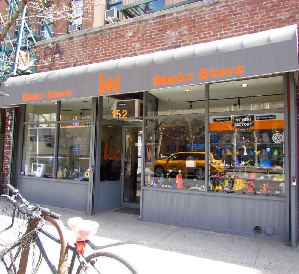 iMakr's Manhattan 3D print retail store may soon have many counterparts