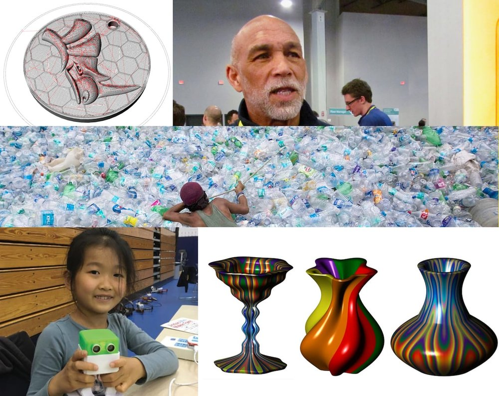 Some of the 3D print community projects we've supported