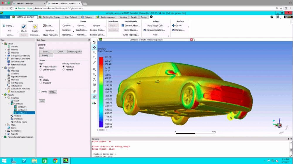 The ANSYS startup program
