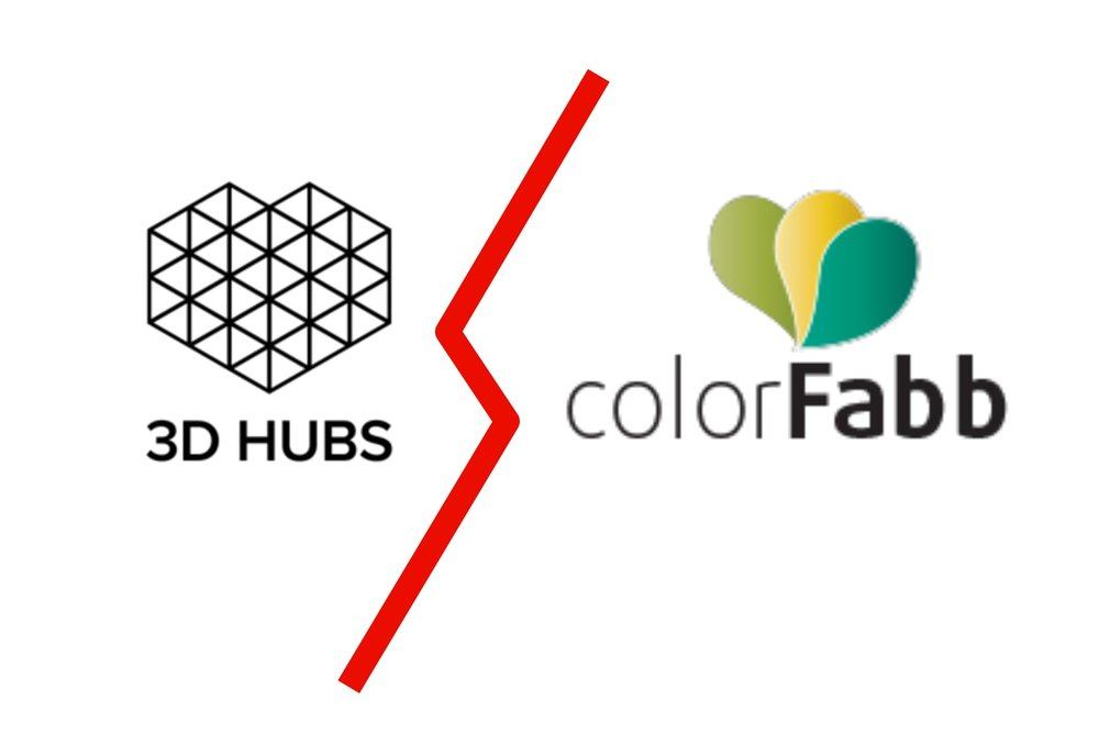 Changes between colorFabb and 3D Hubs