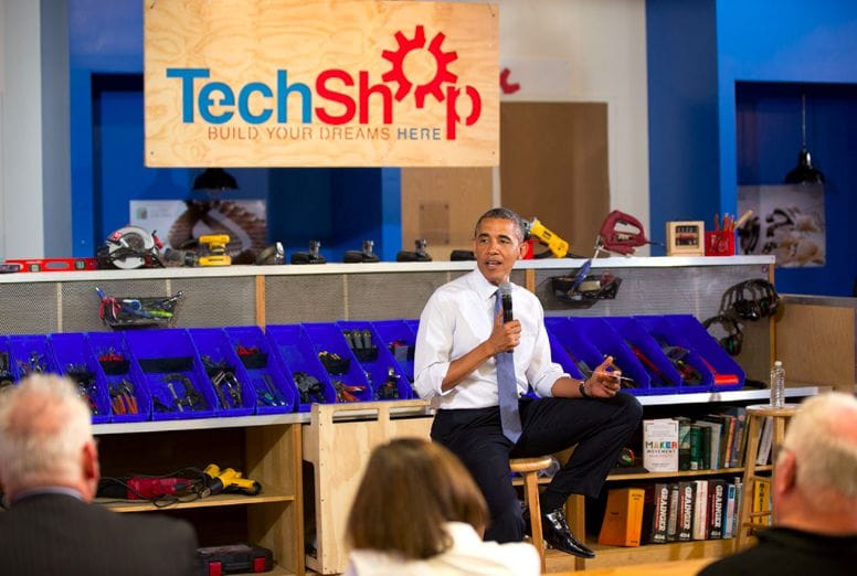 TechShop previously had a great deal of interest from all sides