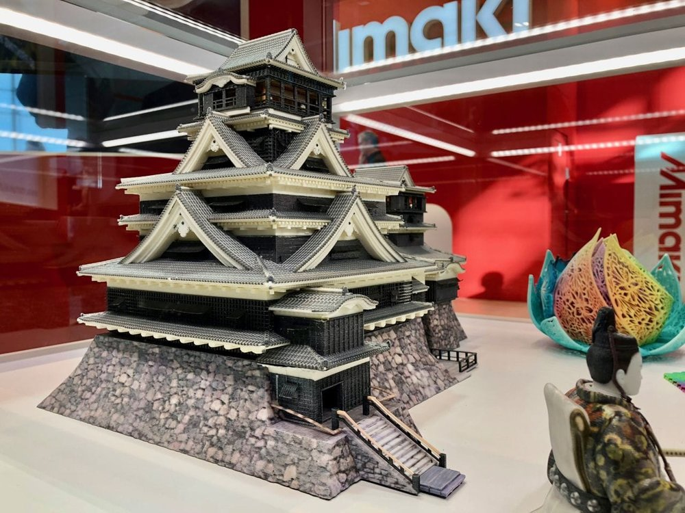 An incredibly detailed large full color 3D print by Mimaki's 3DUJ-553
