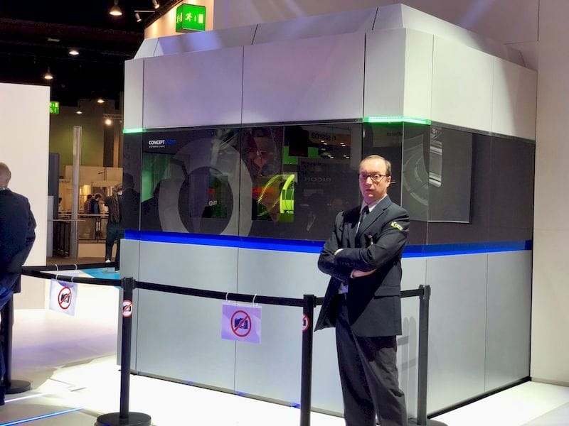The mysterious (and closely guarded) GE Atlas 3D metal printer concept