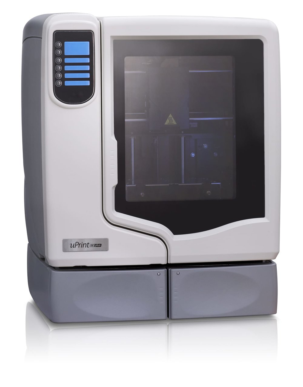 The venerable uPrint, historically one of Stratasys' most popular 3D printers