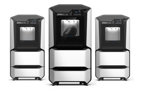 The new F-Series of Stratasys 3D printers