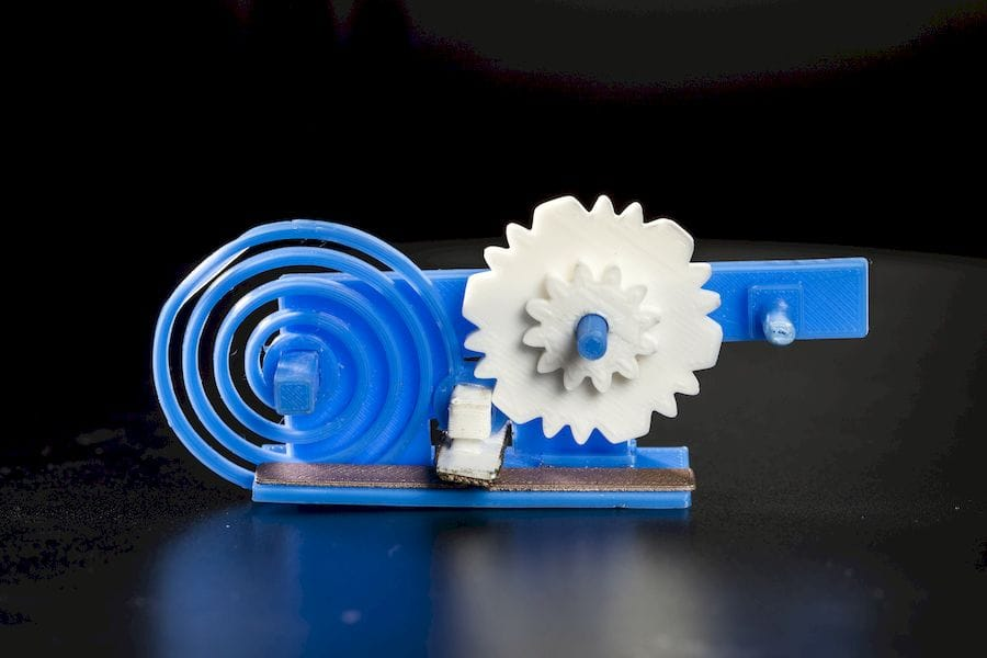 A conductive 3D printed object capable of wireless signaling