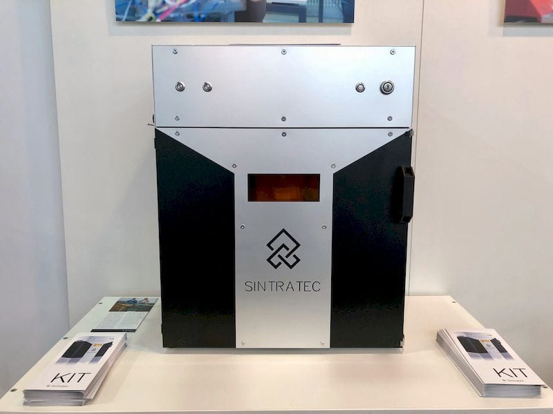 "Sintratec's ""Kit"", a low cost SLS 3D printer"