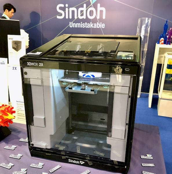 The new 3DWOX 2X 3D printer from Sindoh