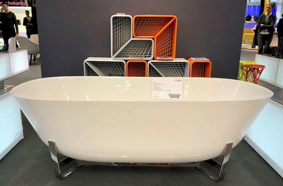 A beautiful 3D printed bathtub