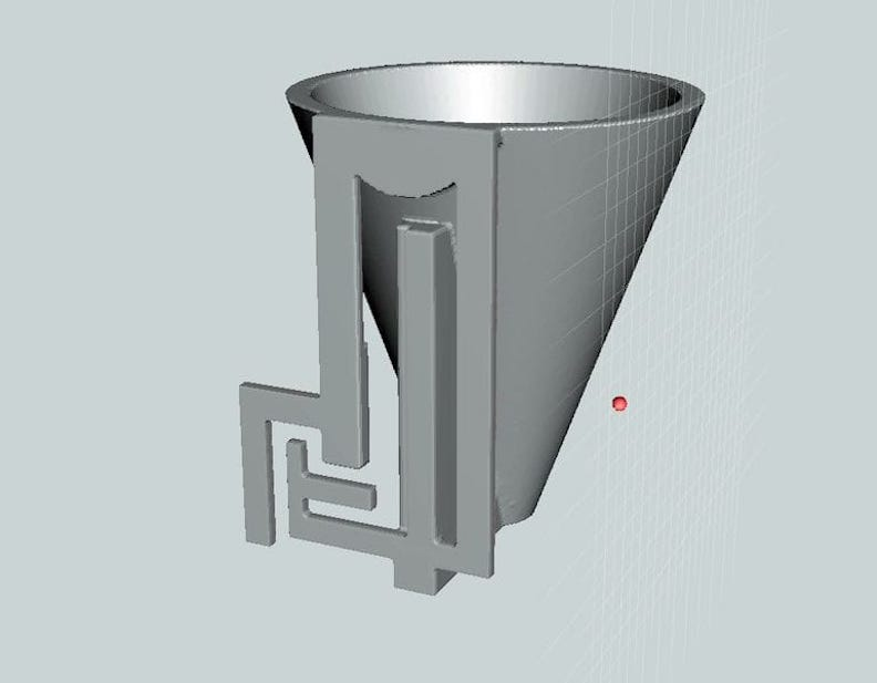The practical Wristband Funnel 3D model