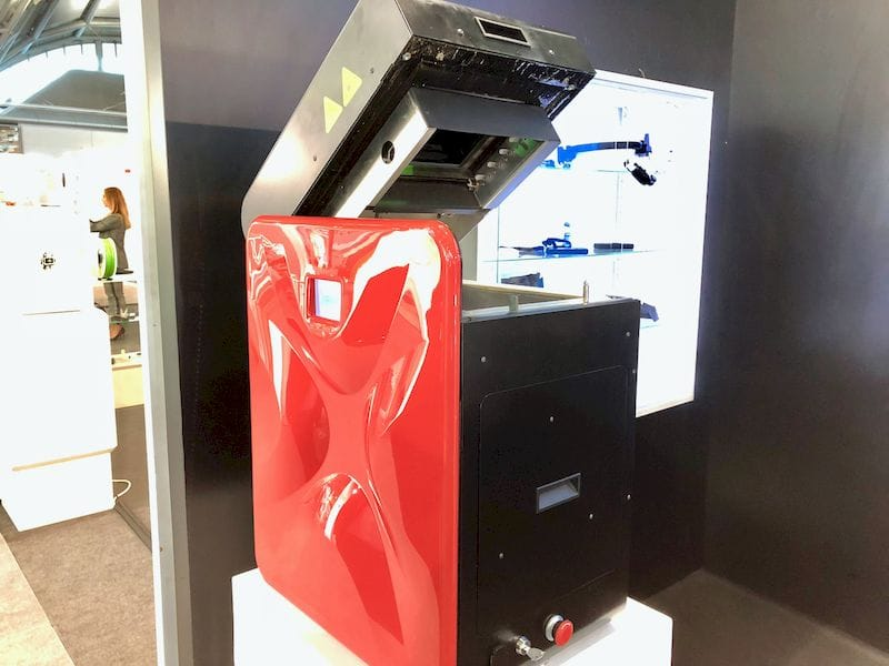 The Sinterit Lisa desktop SLS 3D printer