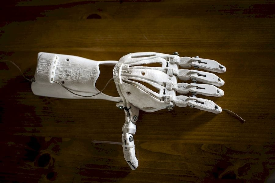 A 3D printed prosthetic