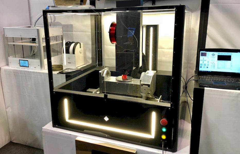 The Ethereal Halo 5-axis 3D printer (and CNC mill)