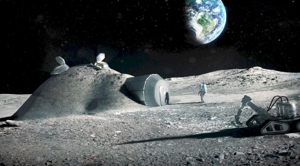 How we will eventually 3D print on the Moon