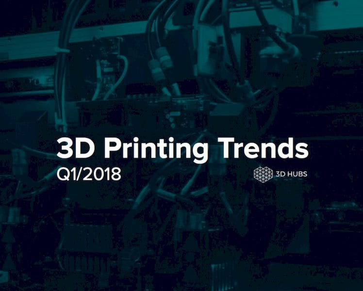 Insights into 3D printing via 3D Hubs' quarterly report