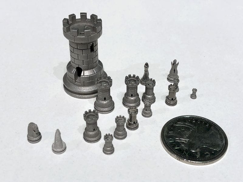 Incredibly small 3D printed metal parts made by Hoganas