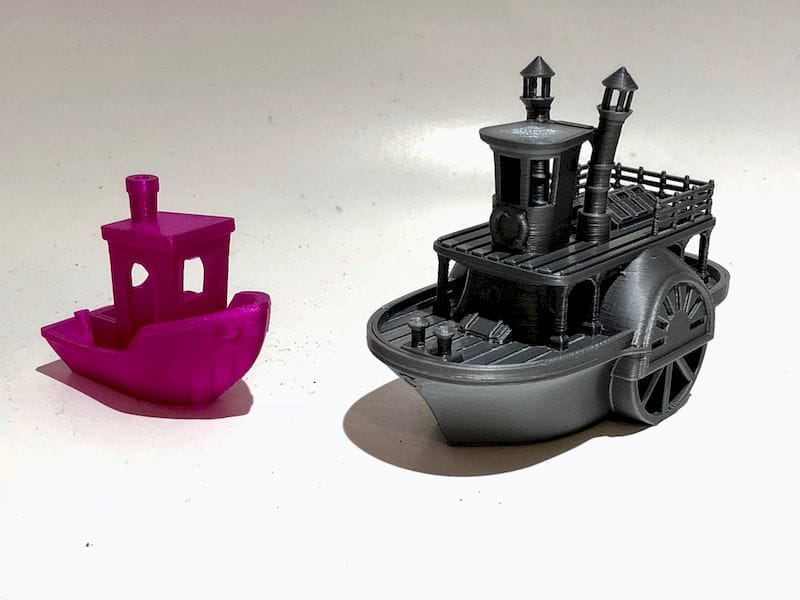 """Would you consider using a different """"fun"""" 3D print benchmark?"""