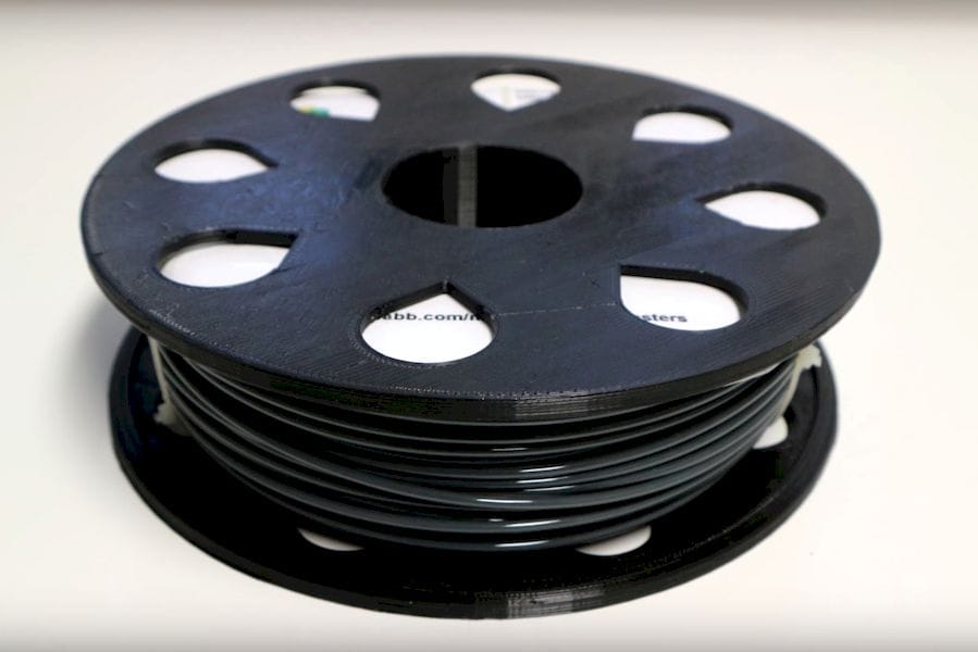 The MasterSpool - loaded with 3D printer filament