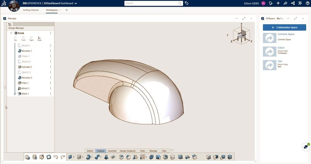 xDesign: Solidworks in a browser
