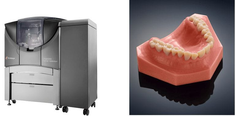 The Stratasys Objet260 Dental 3D Printer
