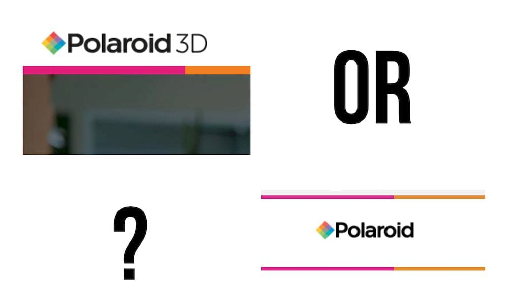 The two Polaroid 3D printing operations